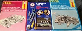 Owners Workshop Manuals 8 in Total Ford Escort, Ford Fiesta, Ford Cortina,, Haynes
