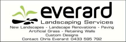 Everard Landscaping Services Playford Area Preview