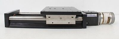 Lintech 90 Series Twin Rail Linear Stage 6x8 90606 W Compumotor 57-83 Stepper