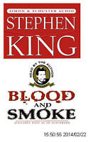 CD BLOOD AND SMOKE STEPHEN KING SIMON AND CHUSTER ANGLAIS