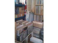 """large vinyl record collection soul disco house rock pop etc 12"""" - lp - albums - singles"""