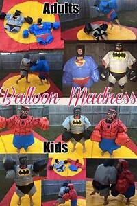 SUPER HERO SUMO SUITS FOR SALE! Marsden Logan Area Preview