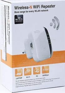 Wireless-N WiFi Repeater 300Mbps AP Router Range Signal Extender