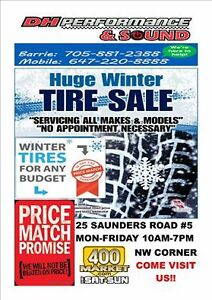 WINTER TIRE CONTAINER UNBEATABLE PRICES CALL US AT 705-881-2388