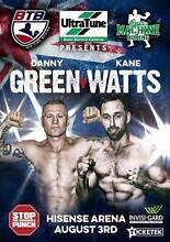 Danny Green v's Kane Watts Front Row Table Mango Hill Pine Rivers Area Preview