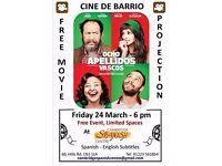 Free Movie Projection: Ocho apellidos vascos