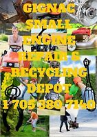 GIGNAC Small Engine Repair & Recycling Depot