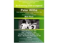 An Evening with Peter Withe