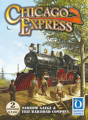 Chicago Express: Narrow Gauge and Erie Railroad Company Expansion