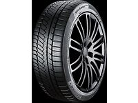 WINTER TYRES 4 x 18 inch CONTINENTAL SUPERB QUALITY WinterContact TS850P 235/50