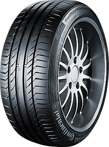 4 Tires A1 Continental 225/45 R18 8,000 km