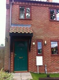 Two bedroom house in country location for exchange.