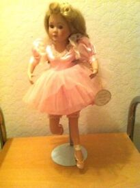 Leonardo Collection. Porcelain Ballerina Doll