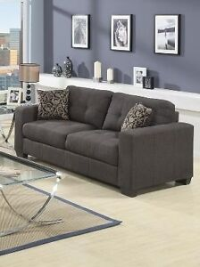 All New sofas. grey fabric or bonded leather!! From $499