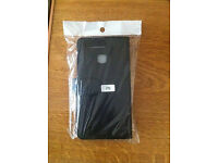 Huawei P9 Black leather flip phone case - Never Used