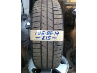 185-55-14 Firestone Firehawk 80H 4mm Part Worn Tyre