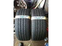 2x 255-45-20 Landsail Ls588 105W 7mm Part Worn Tyres