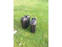 2 x 20 litre Jerry Cans