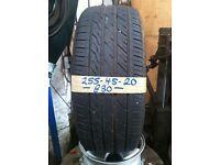 255-45-20 Landsail Ls588 105W 6mm Part Worn Tyre