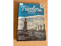 Tricolore French 5th edition textbook book 2