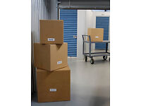 self storage units Ebay Amazon stock store and pack