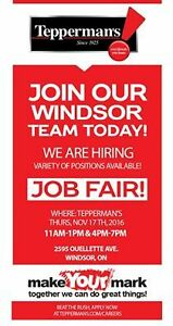 Tepperman's Job Fair Windsor Region Ontario image 1
