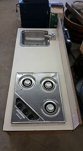 Camper counter top stove