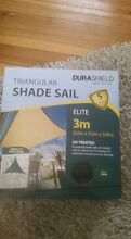 shade sail 3x3x3 triangular Revesby Bankstown Area Preview