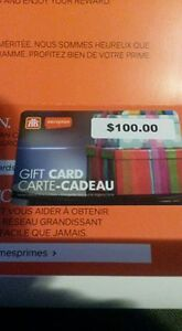 $100 Home Hardware Gift card