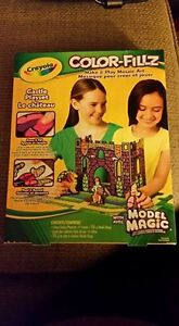 Crayola Color Fill Make and Play Mosaic Art Castle Playset Peterborough Peterborough Area image 1