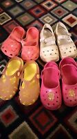 Size 10. Two pairs crocs. All for $6. Dartmouth Halifax Preview