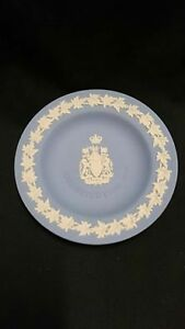 Blue And White Wedgwood Constitution 1982 Plate