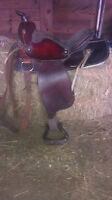 For sale 15 inch Western Saddle