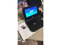 Fantastic portable dvd player with remote control and car charger