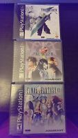 Final Fantasy Collection - VII, VIII and IX