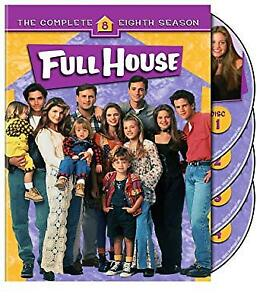 FULL HOUSE SEASON 8 DVD (4 Discs)*IF AD'S UP, IT'S STILL AVAIL