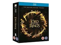 Lord of the rings blu ray box set Brand New!