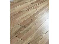 Abbey Drumbo Oak Rustic Lacquered Solid Wood flooring (28 packs coverage is 1.056 metres each pack)
