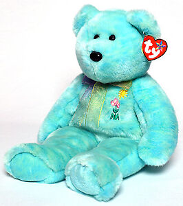 Ariel the Pediatric AIDS Bear Ty Beanie Buddy