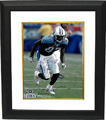 Kevin Dyson signed Titans 16x20 Photo Framed Music City Miracle/01/08/00/Champs
