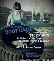 Blue Quill Boot Camp