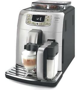 Automatic Espresso Coffee Maker Machine Saeco Intelia Deluxe Cappuccino HD8771/93 - WE SHIP EVERYWHERE IN CANADA !