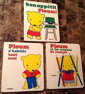 Ploum French Board Books