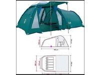 Coleman BI Space 500- 5 Person Tent, Excellent condition