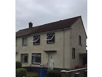 RENT NOW-Upgraded-2 Bed End Terrace-Kilbrannan Ave - Rent £500-Large garden-accept all circumstances