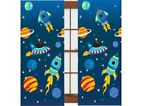 Space Rocket Curtains