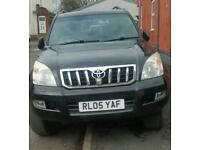 Toyota Landcruiser 3 ltr diesel lc4 7 seater Manual 2005 Black 2 lady owners