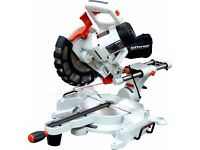 "Jefferson 10"" SLIDING MITRE SAW 110v 10"" / 250mm Cuts 340x80mm"
