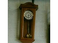Hermle medium oak chiming clock