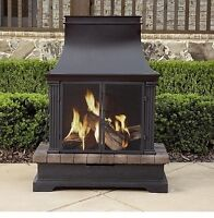 High end outdoor fire place new in the box